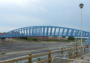 A24 Broadbridge Heath Footbridge