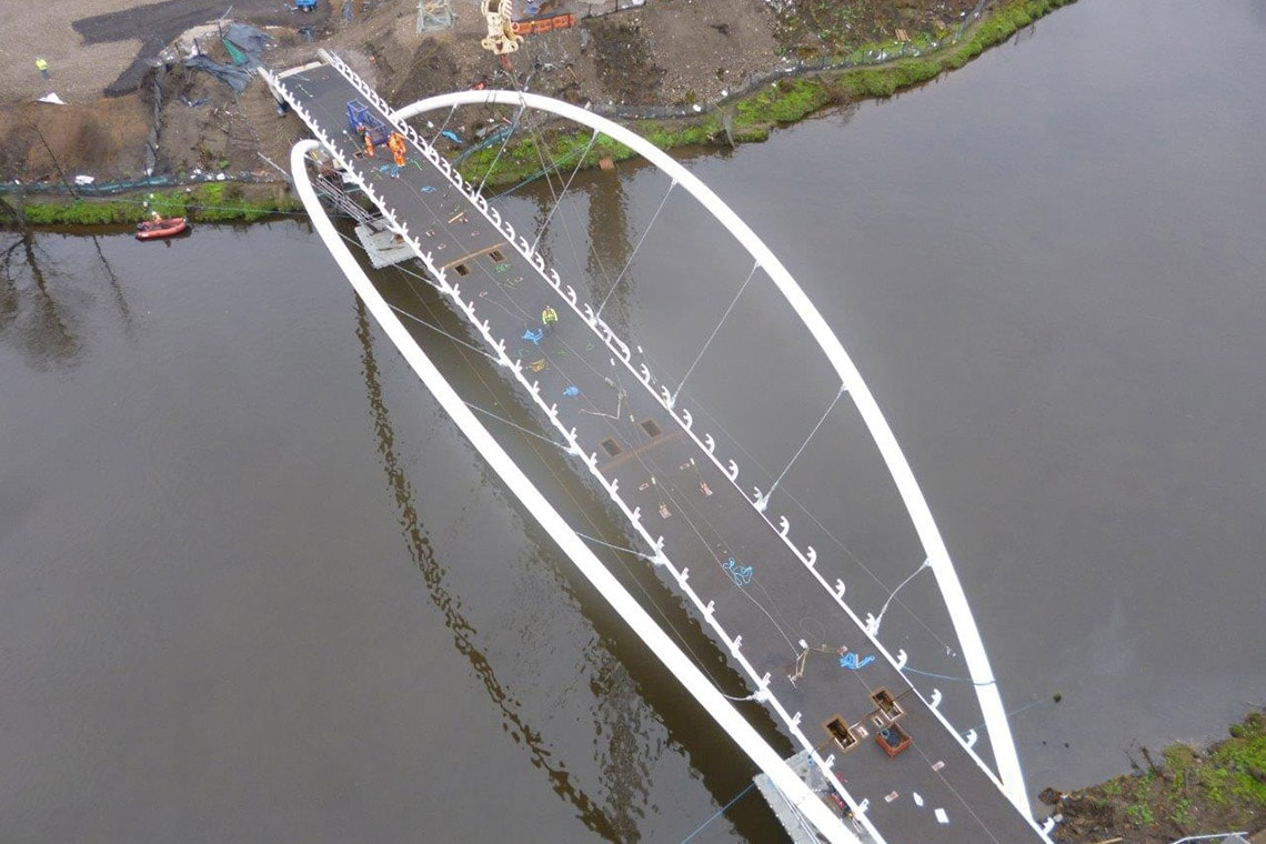 Glasgow Pedestrian & Cycling Smartbridge