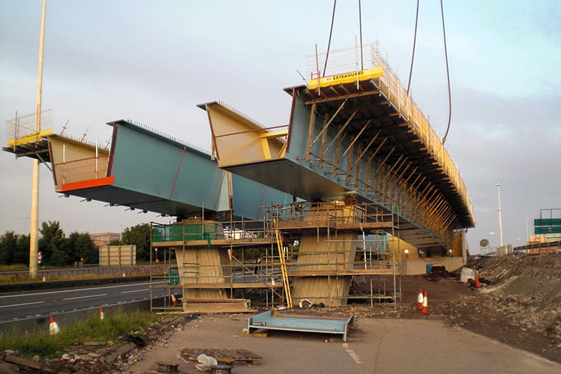 Construction of M74 Extension in Glasgow