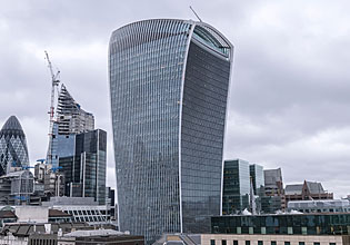 The Walkie Talkie - London
