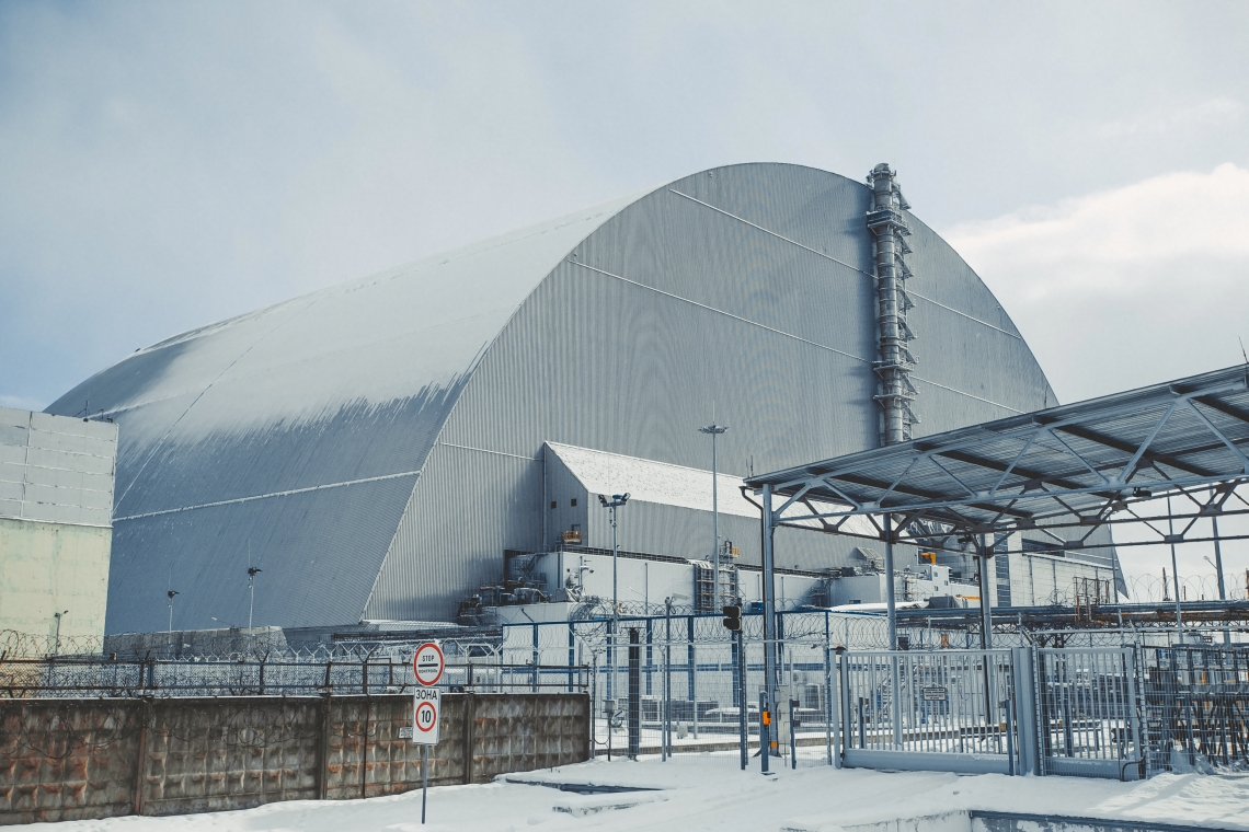 TCBs in use in Chernobyl New Safe Confinement