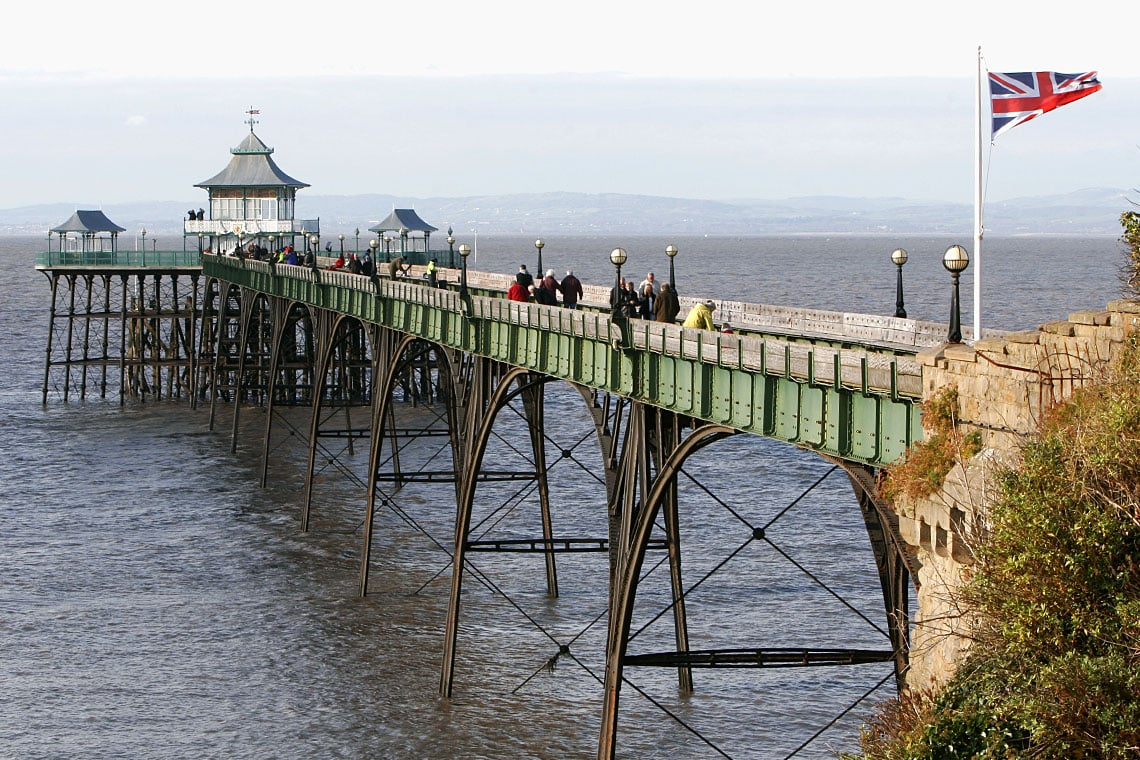 Victorian Seaside Pier Restoration