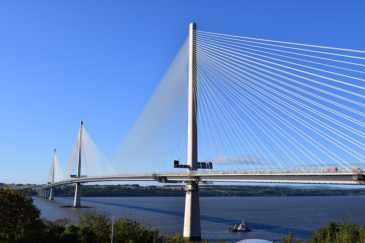 New Bridge Across the Forth Opens