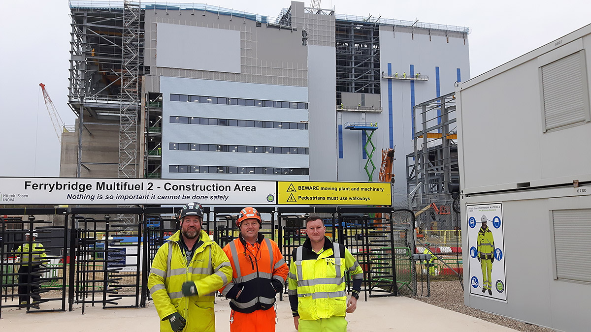 New Shear Wrench at Ferrybridge Power Station