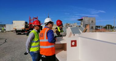 TCB on site at the ITER Research Project